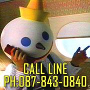 CALL LINE:087-843-0840